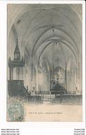 Carte  De TILLY Intérieur De L' église ( Recto Verso ) - Autres Communes