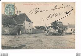 Carte De GONDREVILLE  Chambre Du Prince De Condé  ( Recto Verso ) - Otros Municipios