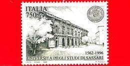 Nuovo - MNH - ITALIA - 1996 - Università Di Sassari - Schools And Universities - 750 L. - 1991-00: Nieuw/plakker