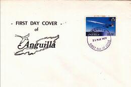 Anguila 1er Jour FDC Concorde 21/05/79 - Anguilla (1968-...)