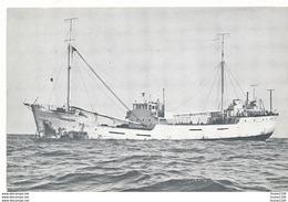Bateau MAGDALENA à Identifier Commerce ( Radio Mi Amigo  272 M Petites Ondes 100 Khz ) Carte De Cibiste à CANY - Barche