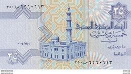 Billet De Banque  égypte  Egypt 25 Piastres - Egipto