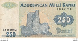 Billet De Banque AZERBAYCAN Milli Banki 250 - Azerbeidzjan