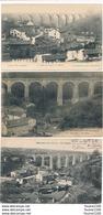 LOT De 3 Cartes De BELLAC Viaduc Chapterie Embrette  ( Recto Verso ) - Bellac