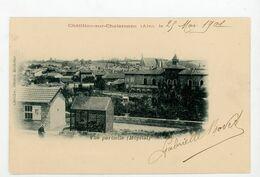 CPA: 01- CHATILLON-SUR-CHALARONE - VUE PARTIELLE (HOPITAL) - - Châtillon-sur-Chalaronne