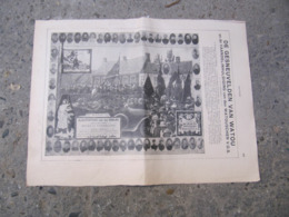 Poperinge - Watou - De Gesneuvelden Van Watou Wo1 - Uit Ons Land 1920 - Poperinge