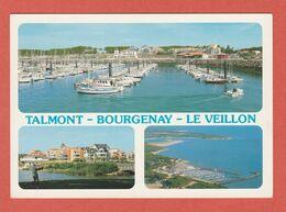 CP 85 TALMONT 151 BOURGENAY-LE-VEILLON Année 1992 - Talmont Saint Hilaire