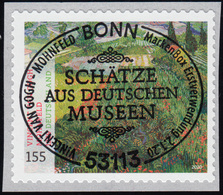 3519 Vincent Van Gogh: Gemälde Mohnfeld, Selbstklebend Aus Rolle, EV-O Bonn - Zonder Classificatie