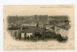 CPA: 01- CHATILLON-SUR-CHALARONNE - VUE GENERALE - CLOS DE LA GRAVIÈRE - - Châtillon-sur-Chalaronne