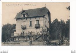 Carte Des Environs De Courtenay  La Maison D' Aristide Bruant à LIFFERT ( Recto Verso ) - Courtenay