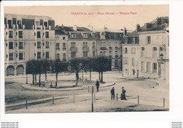 Carte De  Verdun Place D' Armes - Verdun