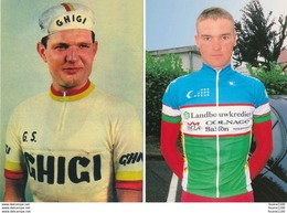 Lot De 6 Cartes CYCLISME Jos Hoevenaers Serguey Lagutin Régis Ovion Frans Bonduel Henri Anglade Fernandino Terruzzi - Radsport