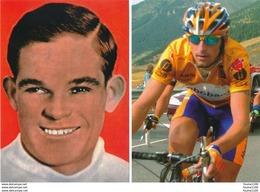 Lot 6 Cartes CYCLISME Gaston Rebry Denis Menchov Vasilis Anastopoulos Alekseys Saramotins Jussi Veikkanen Danilo Di Luca - Radsport