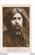 Carte De Romancier ( écrivain ) Alphonse Daudet   ( Recto Verso ) - Writers