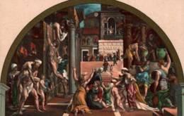 CPA - FIRENZE - INCENDIO Di BORGO - Edition E.Sborgi - Firenze (Florence)
