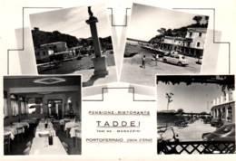 """CPSM - PORTOFERRAIO - PENSION RESTAURANT """"TADDEI"""" ... - Edition ... - Italie"""