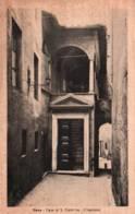 CPA - SIENA - CASA Di S.CATERINA - L'Ingresso ... - Edition Bassi - Siena