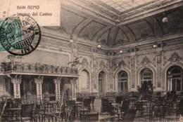 CPA - SAN REMO - INTERNO Dei CASINO - Edition W.C - San Remo