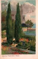 CPA - TRIESTE - SCHLOSS MIRAMAR ... ILLUSTRATION Raoul FRANK - Edition Ottmar Ziehler (légères Traces Au Dos) - Trieste