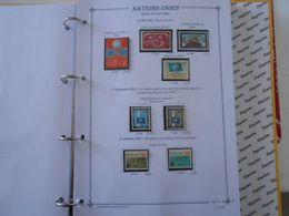 NATIONS-UNIES SIEGE DE NEW-YORK YT 100/107 Vente Par Page D'album (timbres Seuls)** - New York – UN Headquarters