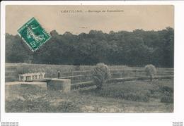 Carte De Chatillon En Bazois  Barrage De Coeunillon ( Recto Verso ) - Chatillon En Bazois