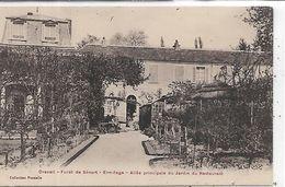 91,Essonne, DRAVEIL, Forêt De Sénart, Ermitage, Allée Principale Du Jardin Du Restaurant - Draveil