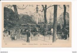 Carte De PARIS  Les Champs élysées Les Chevaux De Bois ( Manège ) - Champs-Elysées