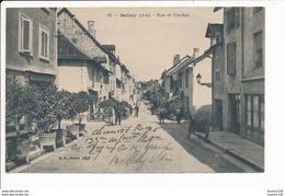 Carte De Belley  Rue De Cordon - Belley