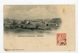CPA: 01- CHATILLON-SUR-CHALARONNE - PANORAMA - - Châtillon-sur-Chalaronne