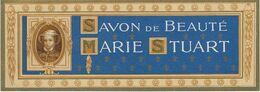 ETIQUETTE PUBLICITE SAVON DE BEAUTE MARIE STUART PARFUMS - Etiquettes