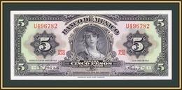 Mexico 5 Pesos 1963 P-60 (60h.6) UNC - Mexico