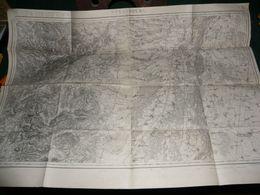 CARTE D ETAT MAJOR :  STARSBOURG - Carte Topografiche
