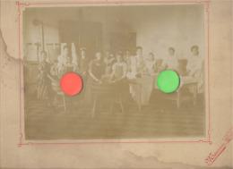 Photo Sur Carton - LIEGE Ou Environs, école Ménagère  ( Sous Réserve ) - Lessive Et Repassage (B283) - Plaatsen