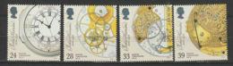 Engeland 1993 SG Nr. 1654-1657  Mi.nr. 1441-1444  MNH   Clocks - Neufs
