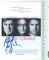 ROBERT REDFORD - Acteur - Signature...Autographe Véritable..(Avec Meryl STREEP Et Tom CRUISE) - (Format 11.5 X 16.5 Cm) - Handtekening