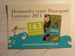 Lorraine - Demande De Passeport Pour Découvrir La Lorraine - Lorraine