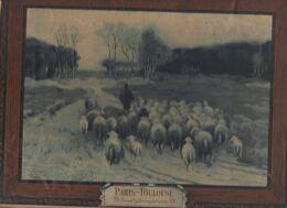 Calendrier 1897 PARIS-TOULOUSE  39 Bd De Strasbourg (CAT1945) - Groot Formaat: ...-1900