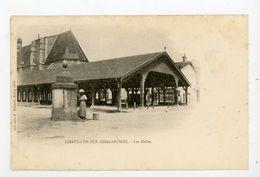 CPA: 01- CHATILLON-SUR-CHALARONNE - LES HALLES - - Châtillon-sur-Chalaronne