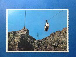 Cartolina Post Card Formato Grande Viaggiata Sud Africa South Montagna Cape Town Seggiovia - Afrique Du Sud