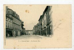 CPA: 01- PONT-DE-VAUX - LA GRANDE RUE - - Pont-de-Vaux