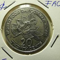 Jamaica 20 Cents 1981 FAO - Jamaica