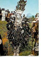Carte /  AFRIQUE GUINEE / Homme Oiseau (N'Zérékoré) / Edit Syli-Cinéma CONAKRY - Guinée