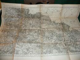 CARTE D ETAT MAJOR :  MEZIERES - Carte Topografiche