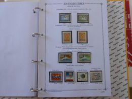 NATIONS-UNIES SIEGE DE NEW-YORK YT 115/124 Vente Par Page D'album (timbres Seuls)** - New York – UN Headquarters