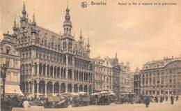 BRUXELLES - Maison Du Roi Et Maisons De La Grand'place. - Monumenti, Edifici