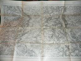 CARTE D ETAT MAJOR :  COMMERCY - Carte Topografiche