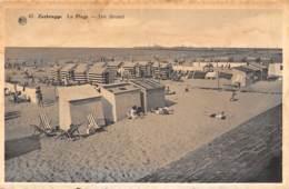 ZEEBRUGGE - La Plage - Het Strand - Zeebrugge