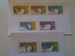 DI.26.4  Hungary    Olympic Games INNSBRUCK  1976  Olympia -SKATING  SKIING  -ICE HOCKEY - Inverno1976: Innsbruck