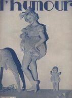 Revue LHUMOUR  N°879 Du 3 Nov 1933  (CAT 1947) - Boeken, Tijdschriften, Stripverhalen