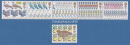 GREAT BRITAIN 1977  CHRISTMAS 12 DAYS  7p. SE TENANT + 9p. S.G. 1044-1049  U.M. - 1952-.... (Elizabeth II)